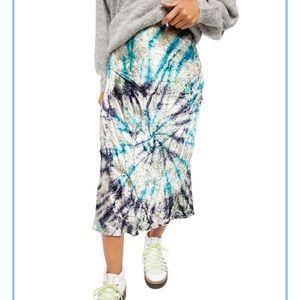 NWT Free People Tie-Dye Skirt 🌀